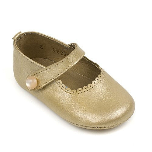 Mary Jane for Baby Metallic Gold
