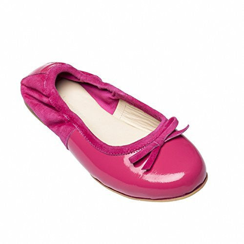 Milano Flats Patent Bright Pink