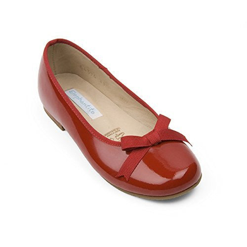 Paris Flat Patent Red