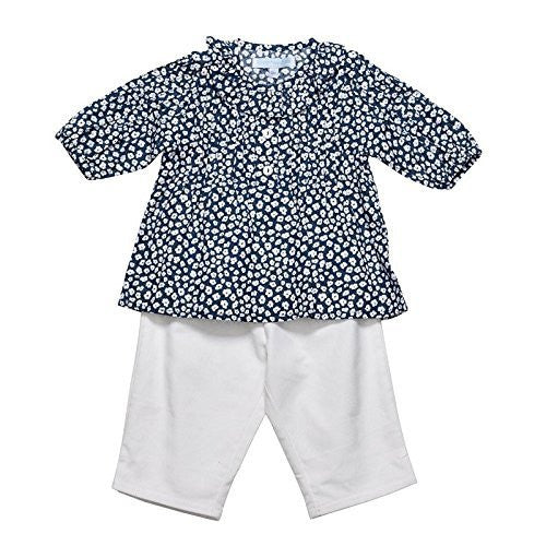 Peacock Blue Baby Set