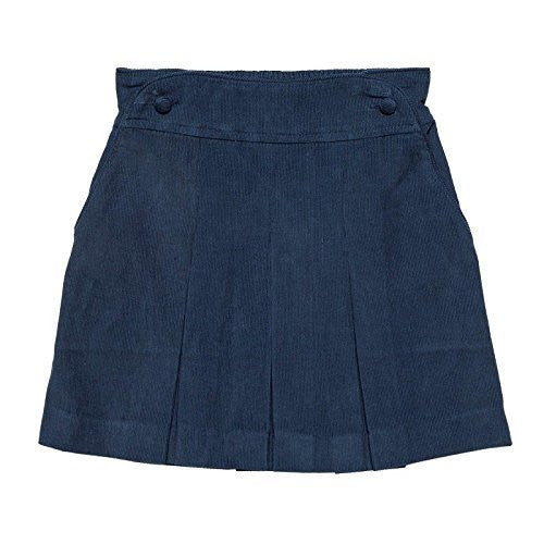 Peacock Blue Pleated Skirt