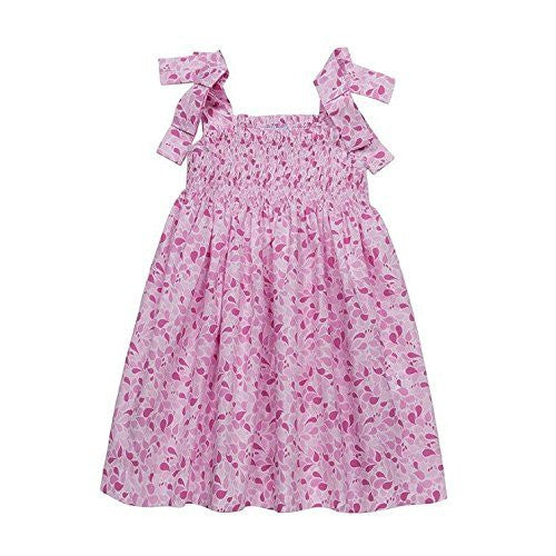 Pink Drops Smocked Sun Dress
