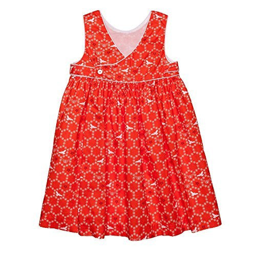 Poppy Bees Crossed Jumper Dress