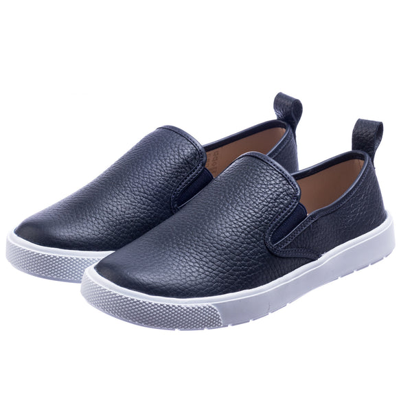 Classic Slip-On Textured Blue