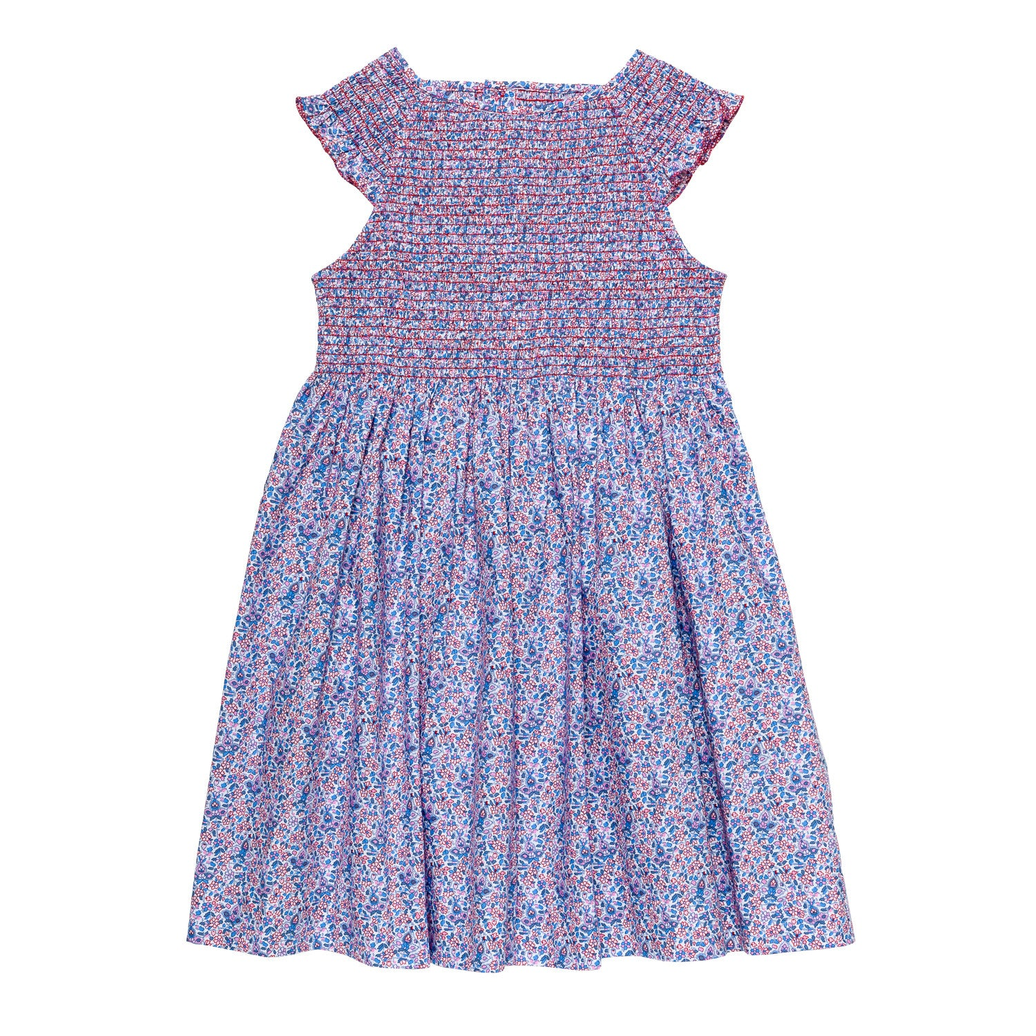 Jardin floral smocked dress for Jardin floral