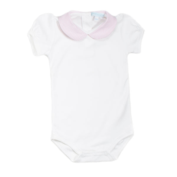 Pink Pima Cotton Bodysuit