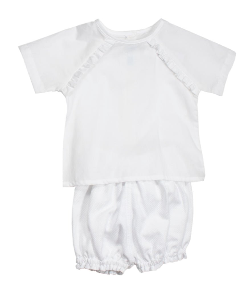 White Baby Set w/Bubbles