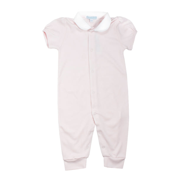 Pink Pima Cotton Coverall