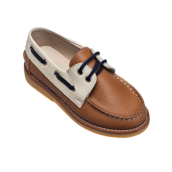 Boat Shoes Caramel Toddler