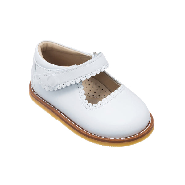 Mary Jane Toddler White