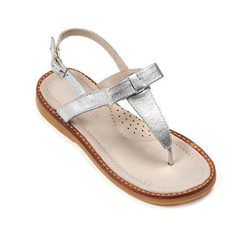 Thong Sandal withBow Silver