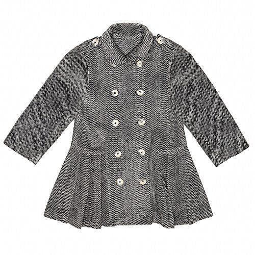 Tweed Greige Paris Coat