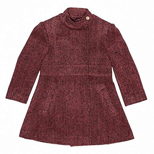 Tweed Guava Princess Coat