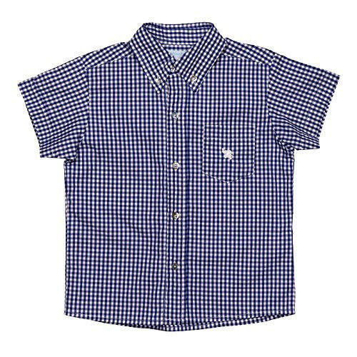Vichy Blue Short Sleeves Shirt