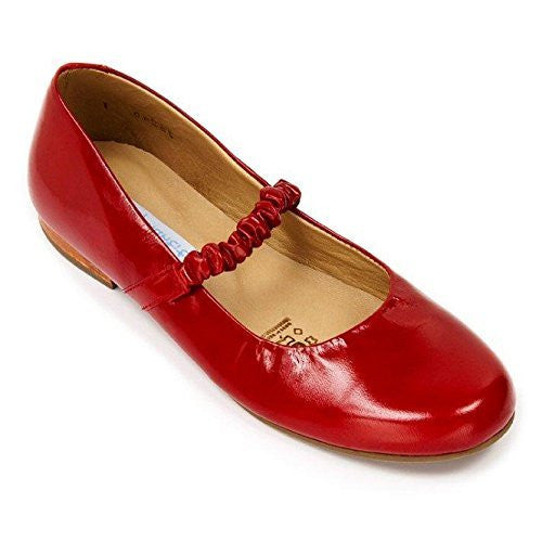 Victoria Flat Patent Red