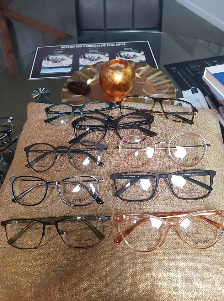 Besides our new CoCo Song Range, and Rimless Silhouette, We are pleased to have our new Eyewear Range for Wayne Cooper Optics & Boheme ( Ladies Fashion Eyewear)