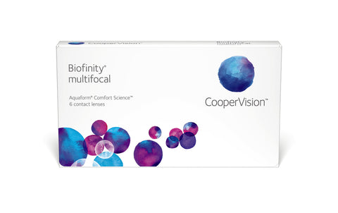Cooper Vision Bioinfinity Multifocal 6 months supply $88.00