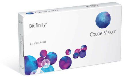Cooper Vision Bioinfinity Monthly Contact Lenses 3 months Supply $37.00