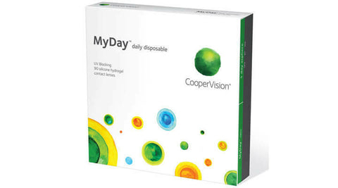 Cooper Vision My Day 90 Contact lenses  3 months Supply $148.00