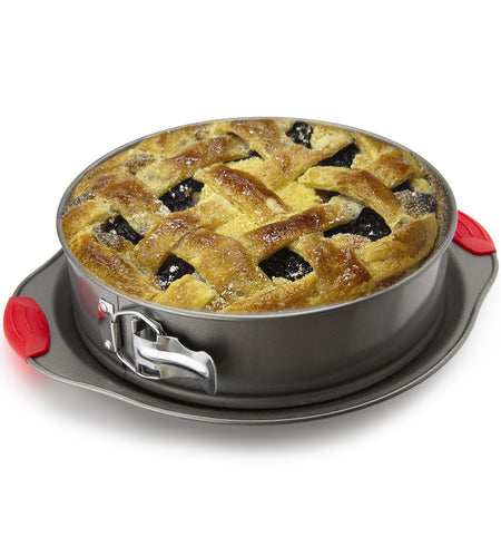 2-in-1 Non-Stick Steel Baking Springform Pan by Boxiki Kitchen - Boxiki Kitchen