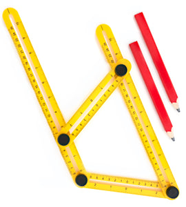 Multi-Angle Measuring Ruler for Contractors & Handymen by Astorn - Astorn