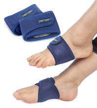 Load image into Gallery viewer, Compression Arch Support Sleeves + Comfort Gel Cushions by Astorn - Astorn