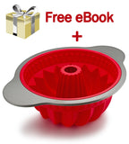 Professional Silicone Bundt Pan - Boxiki Kitchen