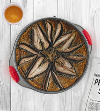 Load image into Gallery viewer, 2-in-1 Non-Stick Steel Baking Springform Pan by Boxiki Kitchen - Boxiki Kitchen
