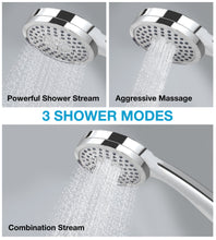 Load image into Gallery viewer, 3 Stream Settings Easy-Install Luxury Rainfall Shower Head by Astorn - Astorn