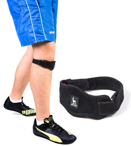 2-Piece Knee Brace with Support Compression Straps by Astorn - Astorn