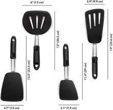 Load image into Gallery viewer, 4 PCS Stainless Steel Spatulas