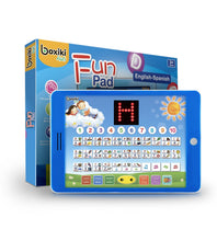 Load image into Gallery viewer, Spanish-English Tablet + LCD Screen Display by Boxiki Kids - Boxiki kids