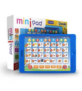 Kids Learning Fun Pad Tablet + 6 Toddler Learning Games by Boxiki Kids - Boxiki kids
