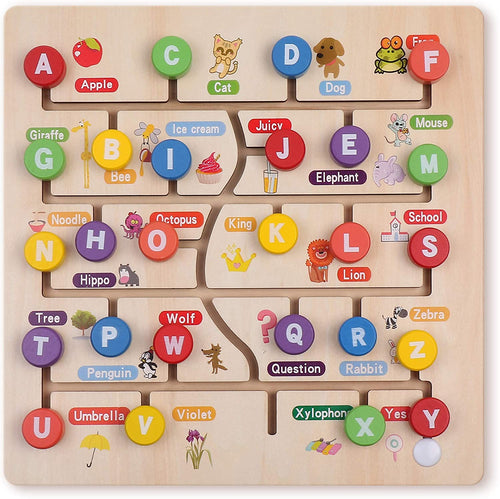 Alphabet Puzzle Tracing Board Game