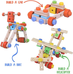 Wooden Construction Kit