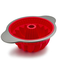 Load image into Gallery viewer, Premium Silicone Non-Stick Durable Bundt Pan by Boxiki Kitchen - Boxiki Kitchen