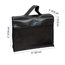 Load image into Gallery viewer, Fireproof Document Bag (Large)
