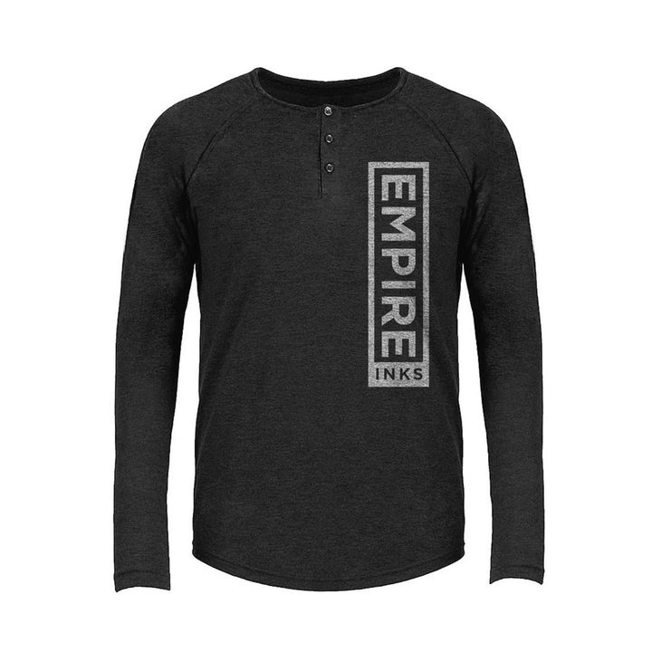 Tri-Blend Long Sleeve Henley