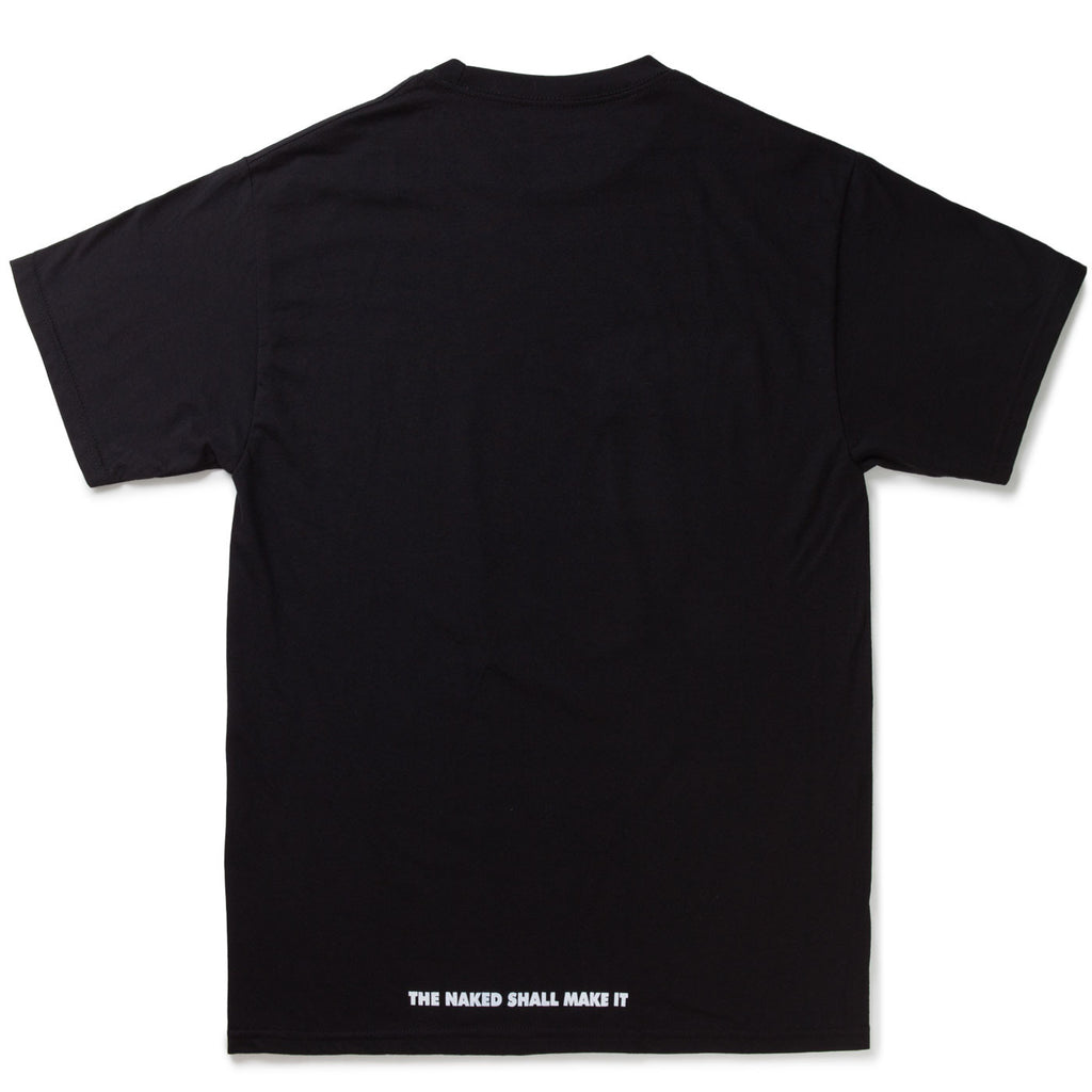 RAINERS / THE NAKED SHALL MAKE IT T-Shirt in Black
