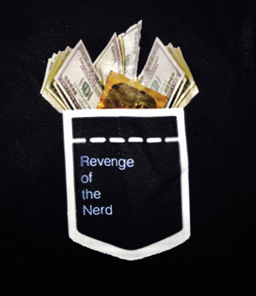 Revenge Of The Nerd * Kick Me / Follow Me Crewneck