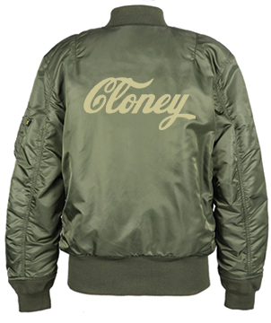 Cloney Bomber in Green
