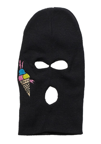 Gucci Mane Tattoo SKi Mask in Black