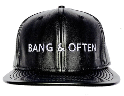 Bang & Often Leatha' Hat