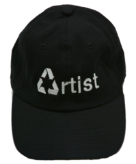 Recycled Artist Hat in Black