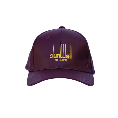 DunWell Hat in Burgandy Leatha'