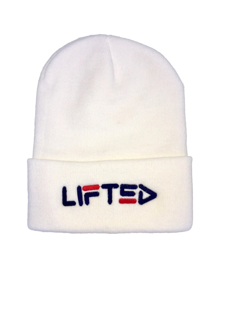 LIFTED Beanie in White