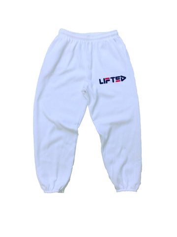 LIFTED Sweatpants in White