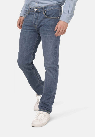 Authentic Indigo Regular Bryce Jeans - MUD Jeans | Ecoture