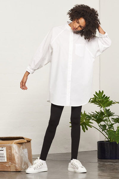 Black Building Block Legging - Kowtow | Ecoture