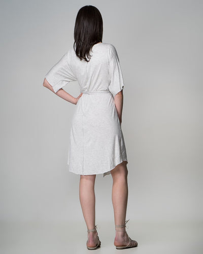 Grey Rachel Dress - Indecisive | Ecoture